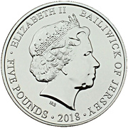 5 Pounds - Elizabeth II (Remembrance Day 2018) – obverse