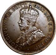 1/12 Shilling - George V – obverse