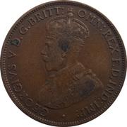1/24 Shilling - George V -  obverse