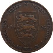 1/24 Shilling - George V -  reverse