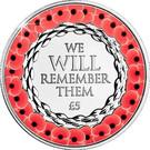 5 Pounds - Elizabeth II (Remembrance Day 2019) – reverse