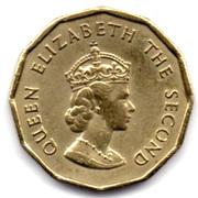 ¼ Shilling - Elizabeth II (Battle of Hastings) – obverse