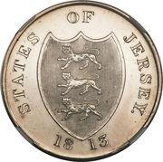 3 Shillings (Bank Token) – obverse