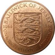 1/12 Shilling - Elizabeth II (Battle of Hastings) – reverse