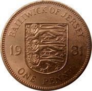 1 Penny - Elizabeth II (2nd portrait) – reverse