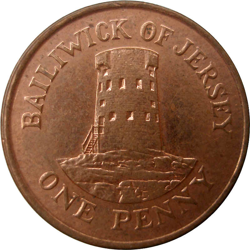 1 penny elizabeth ii 2nd portrait jersey numista for One penny homes
