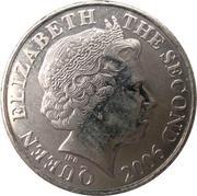 10 Pence - Elizabeth II (4th portrait) -  obverse