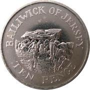 10 Pence - Elizabeth II (4th portrait) -  reverse