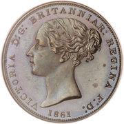 1/26 Shilling - Victoria – obverse