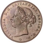 1/24 Shilling - Victoria – obverse