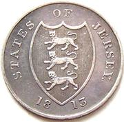 18 Pence (Bank Token) – obverse