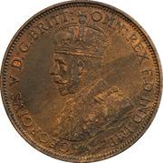 1/24 Shilling - George V – obverse