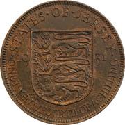 1/24 Shilling - George V – reverse