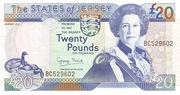 20 Pounds – obverse