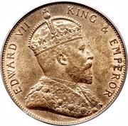 1/12 Shilling - Edward VII – obverse