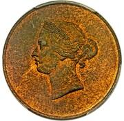 1/26 Shilling - Victoria (Pattern) – obverse