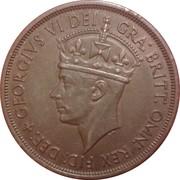 1/12 Shilling - George VI (Liberation) – obverse