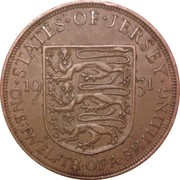 1/12 Shilling - George V – reverse