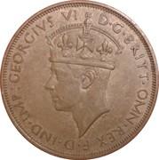 1/12 Shilling - George VI – obverse