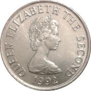 10 Pence - Elizabeth II (2nd portrait; small type) -  obverse