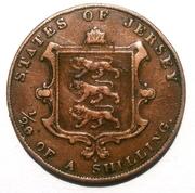 1/26 Shilling - Victoria – reverse