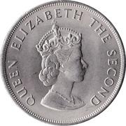 5 Shillings - Elizabeth II (Battle of Hastings) – obverse