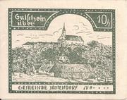 10 Heller (Jeutendorf) – obverse