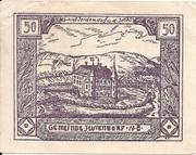 50 Heller (Jeutendorf) – obverse