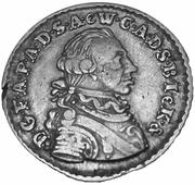 12 Grote - Friedrich August of Anhalt Zerbst (type I) – obverse