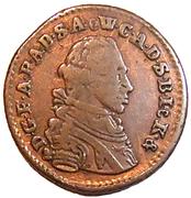 1 Pfennig - Friedrich August – obverse