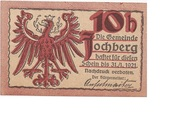10 Heller (Jochberg) – obverse