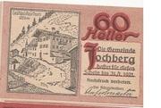 60 Heller (Jochberg) -  obverse