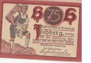 75 Heller (Jochberg) – obverse