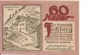 60 Heller (Jochberg) – obverse