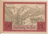 60 Heller (Jochberg) -  reverse