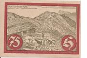 75 Heller (Jochberg) -  reverse