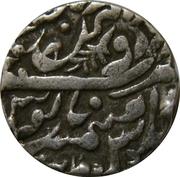1 Rupee - Shah Alam II (Sojat mint) – reverse