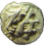 ¼ Ma'ah-Obol - Ptolemy II – obverse