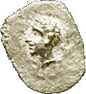 ¼ Ma'ah-Obol - Ptolemy I – obverse