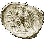 ¼ Ma'ah-Obol - Ptolemy I – reverse