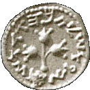 ½ Sheqel (Year 5) – reverse