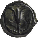 Prutah - John Hyrcanus I & Antiochus VII Sidetes – reverse