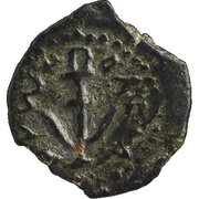 Prutah - Herod I the Great – obverse