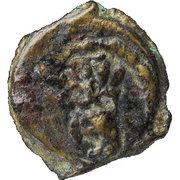 ½ Prutah - Herod the Great – reverse