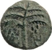 Prutah - Simeon bar Kosevah (Year Three) -  obverse
