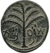 Prutah - Simeon bar Kosevah – obverse