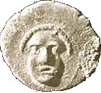 ½ Ma'ah-Obol - Hezekiah – obverse