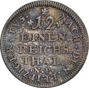 1/12 Thaler - Johann Wilhelm – reverse