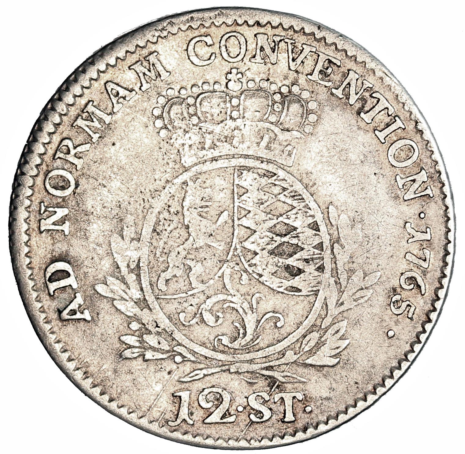 12 Stüber - Carl Theodor - Duchy of Jülich-Berg – Numista