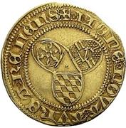 1 Goldgulden - Wilhelm IV. (Münzvereinsgoldgulden) – reverse